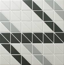 chino hill ribbon 2 u0027 u0027 triangle mosaic geometric wall tiles ant