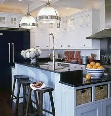 The Coastal Kitchen - classic coastal kitchen u003c color in the kitchen myhomeideas com
