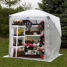 Greenhouse Gazebo Flowerhouse Orchid House 6 X 6 Foot Portable Greenhouse Hayneedle