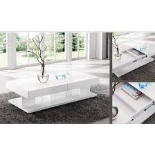 White Coffee Table Verona Extendable High Gloss Coffee Table In White 21025