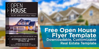 real estate flyers templates free open house template free open house flyer template downloadable