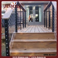 Outdoor Banister Black Stair Railing Outdoor Black Stair Railing Outdoor Suppliers