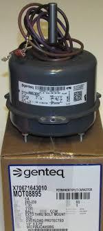 trane condenser fan motor replacement mot08895 american standard trane condenser fan motor