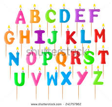 candle alphabet stock images royalty free images u0026 vectors