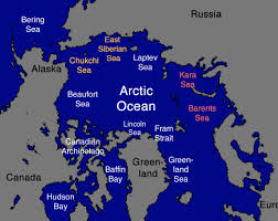 Eastern Hemisphere Map Scientists Pinpoint Arctic Warming Hotspots Behind Severe Northern