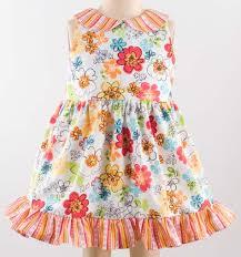 girls toddler dress designer pattern robert kaufman fabric company