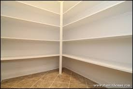 Wood Pantry Shelving by Most Popular Kitchen Plans