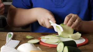 inspire your kids to cook with a safe mini knife set food hacks