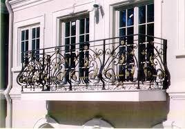 door balcony railing