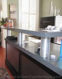 Granite Computer Desk Granite Reception Desk Aspen Countertops