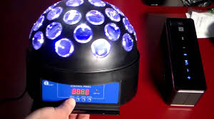 1byone led dj party disco light youtube