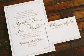 Foil Wedding Invitations Simple And Sophisticated Gold Foil Wedding Invitations Bella Figura