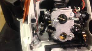 ms441 throttle linkage youtube