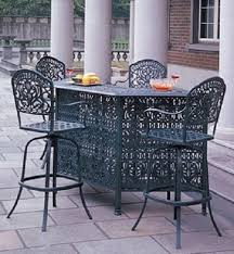 High Patio Table Inspiring Patio Furniture Bar Set And Metal Patio Furniture