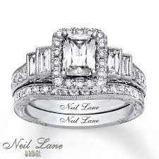 neil bridal set neil bridal set 2 3 8 ct tw diamonds 14k white gold