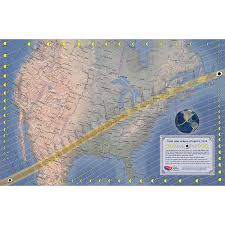 America Time Zone Map by April 8 2024 Total Solar Eclipse Map U2014 Total Solar Eclipse Of Aug