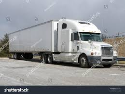 semi trailer truck white tractor trailer semi truck stock photo 996469 shutterstock
