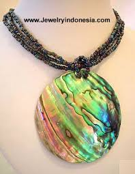 black shell necklace images Abalone shell jewellery jpg