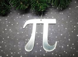 pi tree ornament math symbol pie science