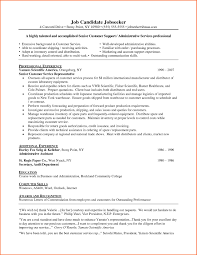 Customer Service Cover Letter For Resume Customer Service Representative Resume Cover Letter Image