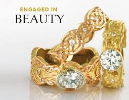 artisan wedding rings handmade ethical sources designer jewelry reflective jewelry