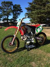motocross bike carrier 1996 cr250 mcgrath replica rebuild bike builds motocross