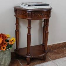 Half Moon Accent Table Half Round Entry Table Foter