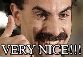 Borat Very Nice Meme - borat very nice borat meme on memegen