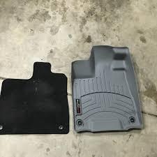 honda pilot all weather mats elite grey weathertech digital fit flood mats installed honda