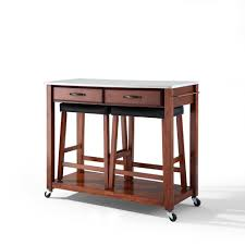 Wheeled Kitchen Island Portable Kitchen Island With Drop Leaf Kitchen Ideas