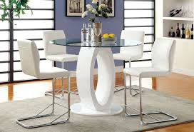 counter height table with chairs white counter height table set