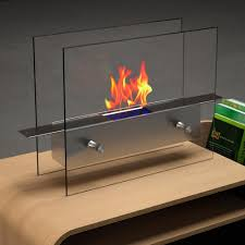 nu flame lampada 7 in tabletop decorative bio ethanol fireplace
