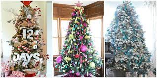 trees decorated mesmerizing classic tree
