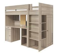 Loft Bed Designs For Girls Bedroom Loft Bed Design Idea With Storage Unit And Desk For
