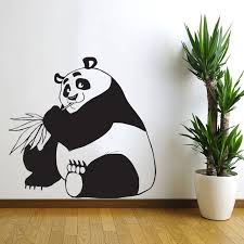 Removable Nursery Wall Decals China Panda Wall Stickers Decorative Vinyl Stickers Home Decor