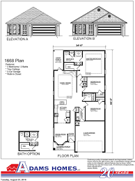 blueprints for homes chesapeake adams homes