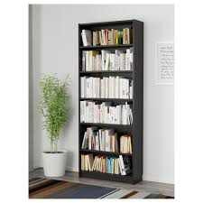 Small Bookcase With Doors Billy Bookcase Black Brown Ikea