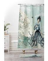 Deny Shower Curtains Get The Deal Deny Designs Belle13 Sea Fairy Shower Curtain 69