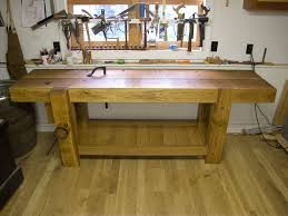 Free Wood Workbench Designs by The Notched Batten U2013 A Great Workbench Trick Popular Woodworking