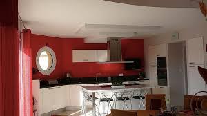 Idee Couleur Cuisine by Indogate Com Idees De Mur Cuisine Moderne