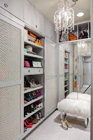 walk in closet furniture gray walk in closet cabinets with metal doors contemporary closet