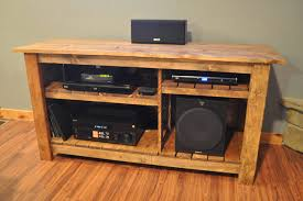 Homemade Stereo Cabinet How To Hide Tv Wires