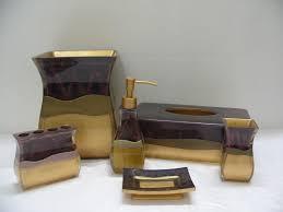 Contemporary Bathroom Accessories Sets - sensational design ideas 5 designer bathroom accessories sets