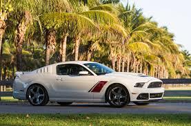 Black Roush Mustang 2014 Roush Stage 3 Mustang