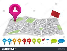 Map With Labels City Map With Labels Vector Illustration 84865843 Shutterstock