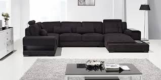 Black Sofa Sectional 8 Black Sofas Living Room Design Trends In 2018 2019 Sofakoe