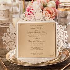 aliexpress com buy laser cut wedding invitations cards kit