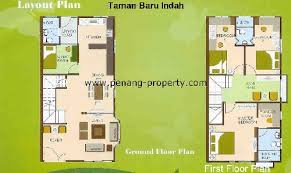 Double Story House Floor Plans Double Storey Terrace House Floor Plans U2013 House Style Ideas