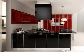 Red Gloss Kitchen Cabinets Kitchen Room High Gloss Paint Kitchen Cabinets High Gloss Acrylic