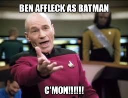 Ben Affleck Batman Meme - the internet reacts to ben affleck being cast as batman via image